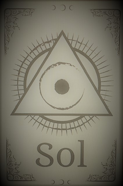 11-Picture of the alchemical symbol for magic.