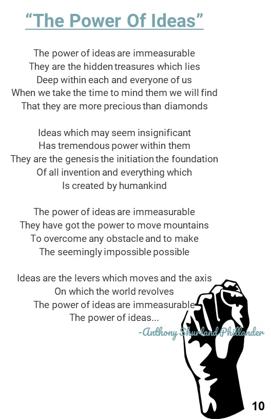 12. Poem about the power of ideas