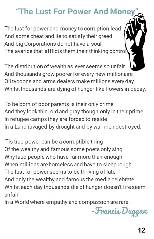 14. Poem about the Evils of Power