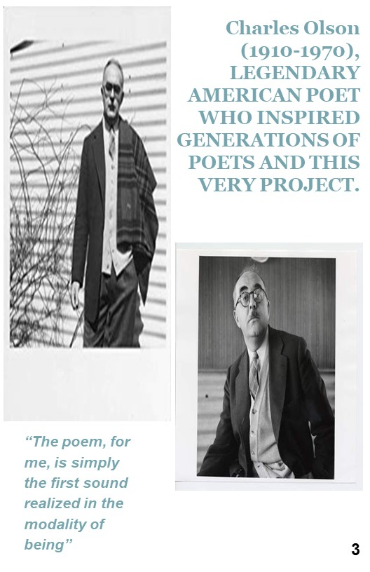 5. Acknowledgement of Olson and his impact on poetry and chapbooks