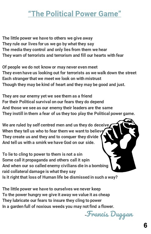 8. Poem about Political Power