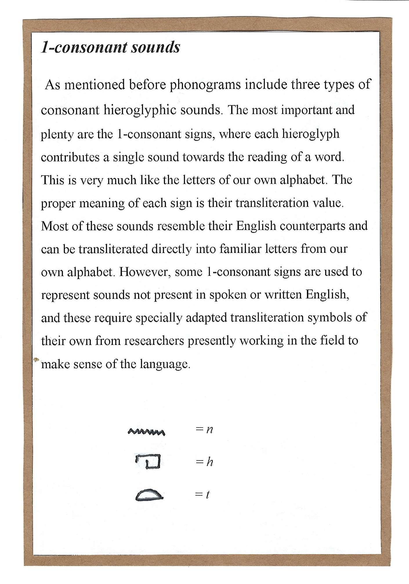 Page 5. A continuation of the exploration of phonograms with the large pool of examples of 1-consonant sounds.