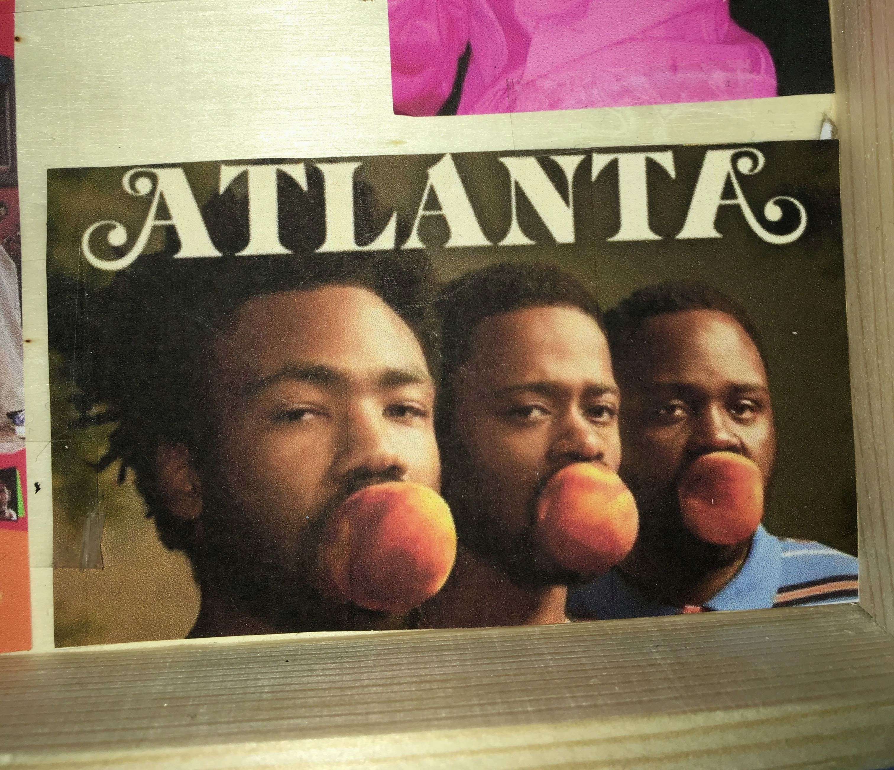 This image is of the television series 'Atlanta'(2016-present). I placed this in the box because it's not only a favorite show of mine, but the creator of the show, Donald Glover aka Childish Gambino, is an example of how hip hop has been present in other forms of media, such as television.